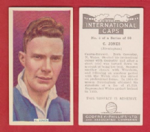 Birmingham City Wilson Jones Wales 5 (IC)